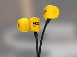 На российском рынке появились внутриканальные наушники AKG Y20