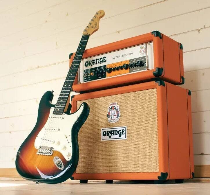 Гитарный усилитель Orange Super Crush 100: ламповый характер на транзисторной схеме