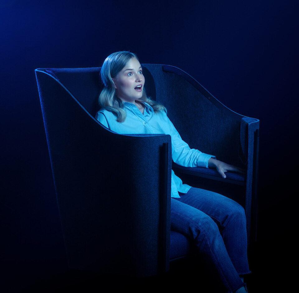 Кресла Flexound Pulse дополнят звук тактильными ощущениями