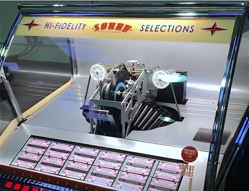 Sound Leisure выпустила музыкальный автомат с пластинками для придорожных кафе
