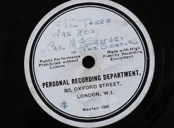 Редчайшая пластинка The Beatles выставлена на аукцион