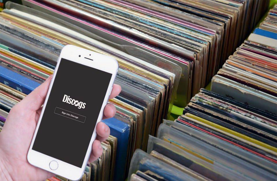 Приложение Discogs для iOS проверит пластинку по штрихкоду