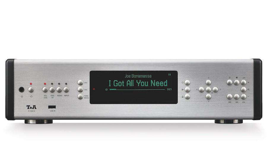 Обновление E-серии компонентов T+A: музыкальный ресивер R 1000 E
