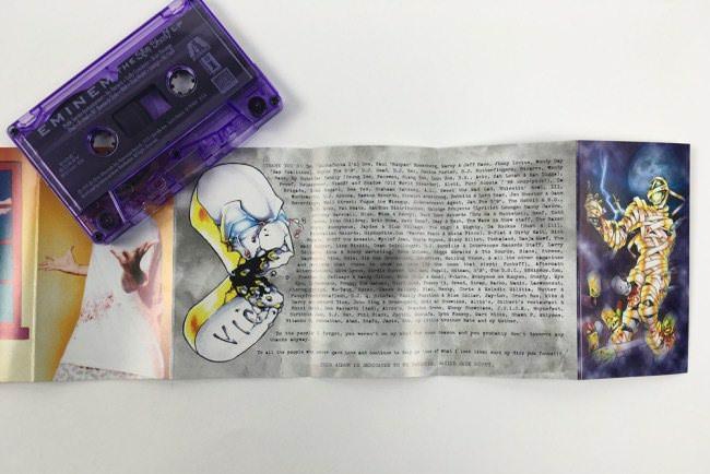 Эминем перевыпустит свой альбом Slim Shady на кассете