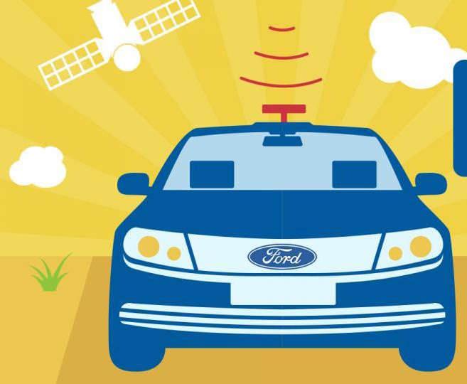Ford запатентовал систему домашнего кинотеатра в автомобиле