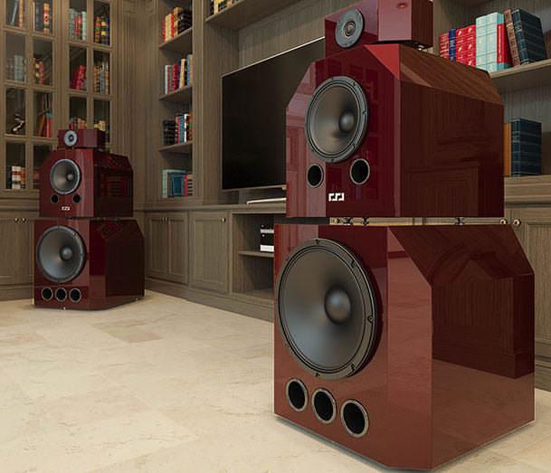 Hi-Fi & High End Show 2016: акустика с цифровым кроссовером Slonov Sound Design