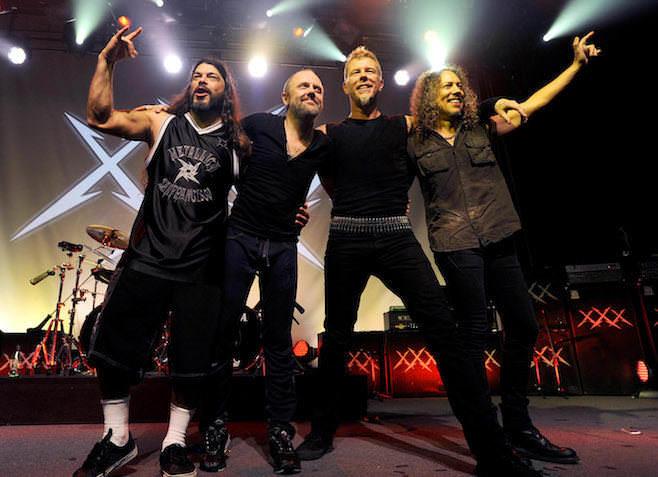 Группа Metallica объявлена представителем Record Store Day в этом году