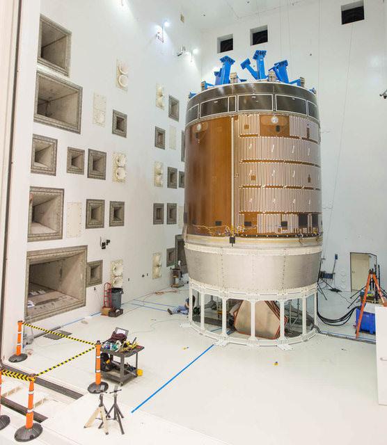 Для тестирования космического корабля «Орион» NASA использовала рупорные акустические системы