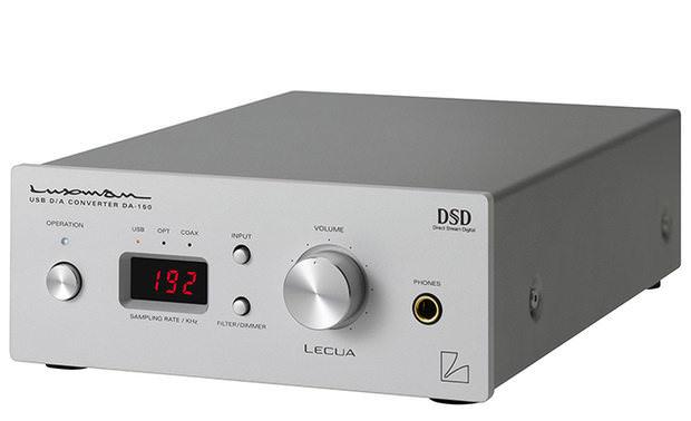 Luxman выпустила ЦАП/усилитель для наушников DA-150 с поддержкой DSD и системой LECUA