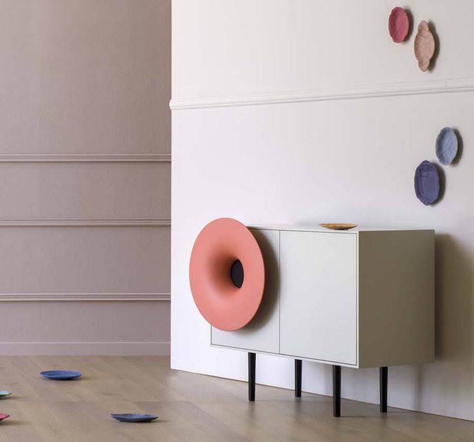 Caruso: дизайнерское прочтение рупорной акустики