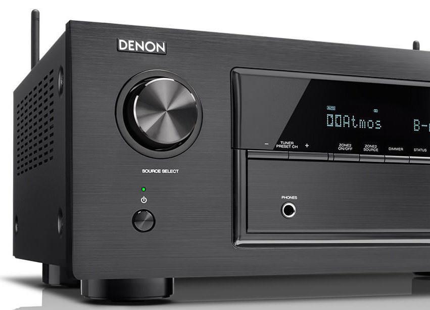 Denon выпустила три AV-ресивера в X-серии: X1300W, X2300W и X3300W