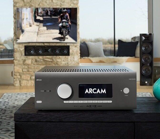 AV-ресивер Arcam AVR5: 12 каналов, Dolby Atmos, DTS:X и опциональный HDMI 2.1