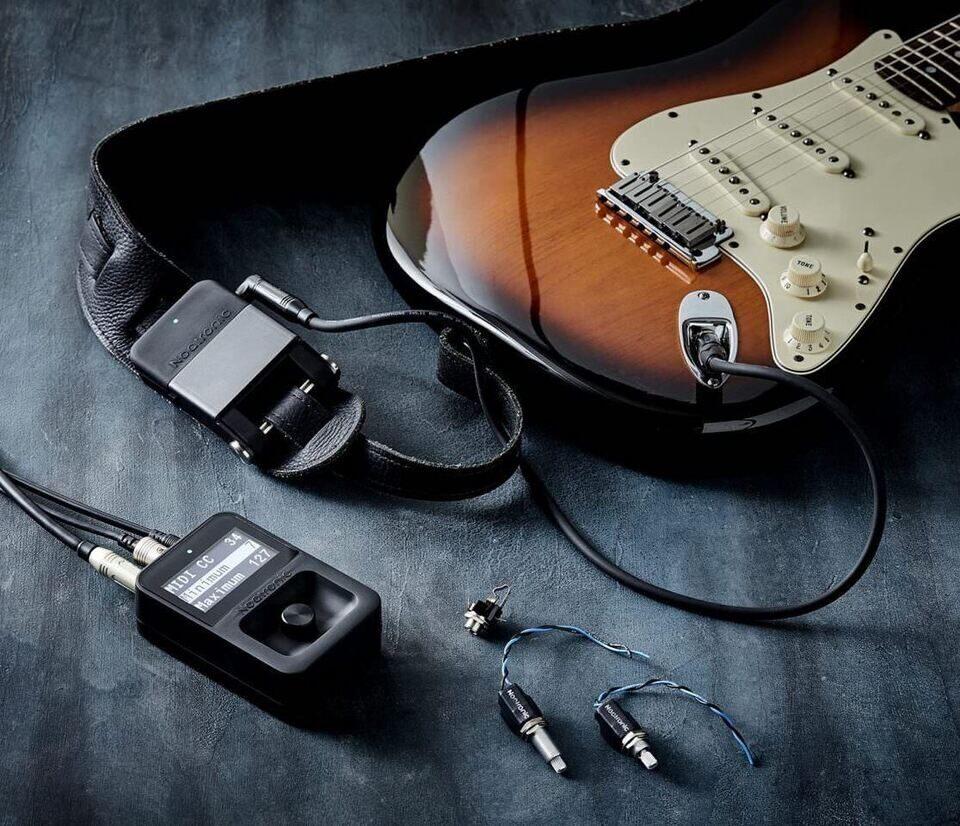 Noatronic Wireless Guitar System: беспроводное управление гитарными педалями через ручку тона