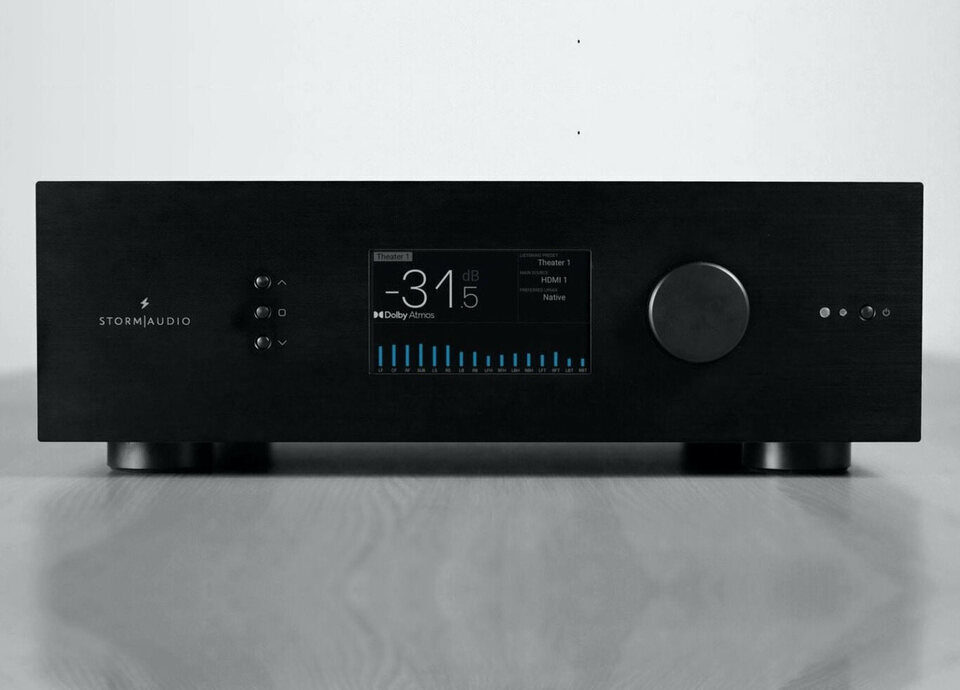 AV-процессор StormAudio ISP Core 16: уменьшенный корпус с дисплеем, 16 каналов и поддержка всех актуальных ДК-форматов
