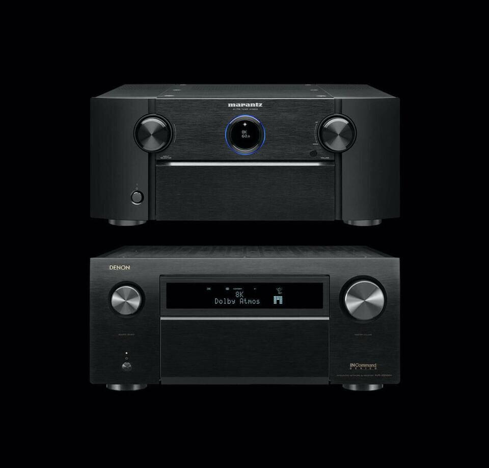 AV-модели Denon AVR-X8500HA, Denon AVC-X8500HA и Marantz AV8805A получат HDMI 2.1