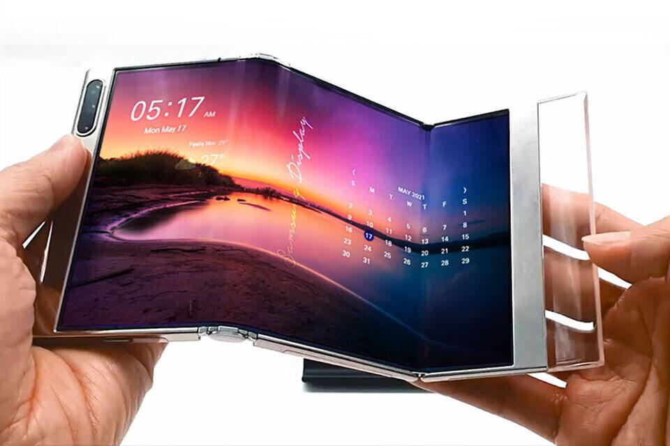 Растягиваемый OLED-экран Samsung: технология будущих смартфонов и телевизоров
