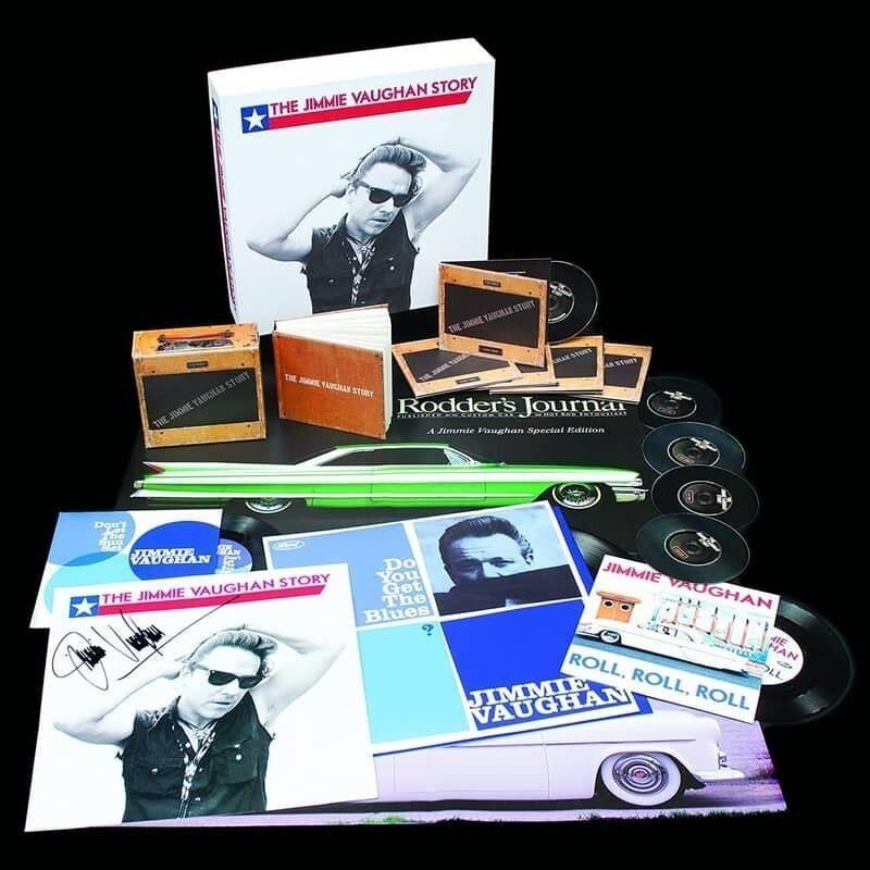Джимми Вон выпустит бокс-сет «The Jimmie Vaughan Story» с винилом, CD и эксклюзивными бонусами