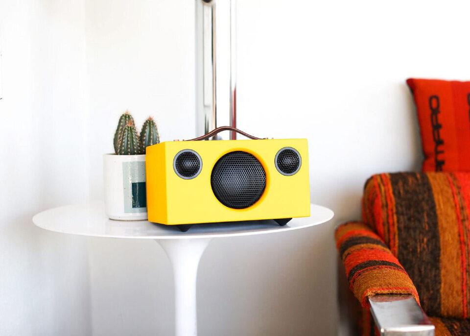 Лимитированная лимонная Bluetooth-колонка Audio Pro Addon T3+ появилась в России
