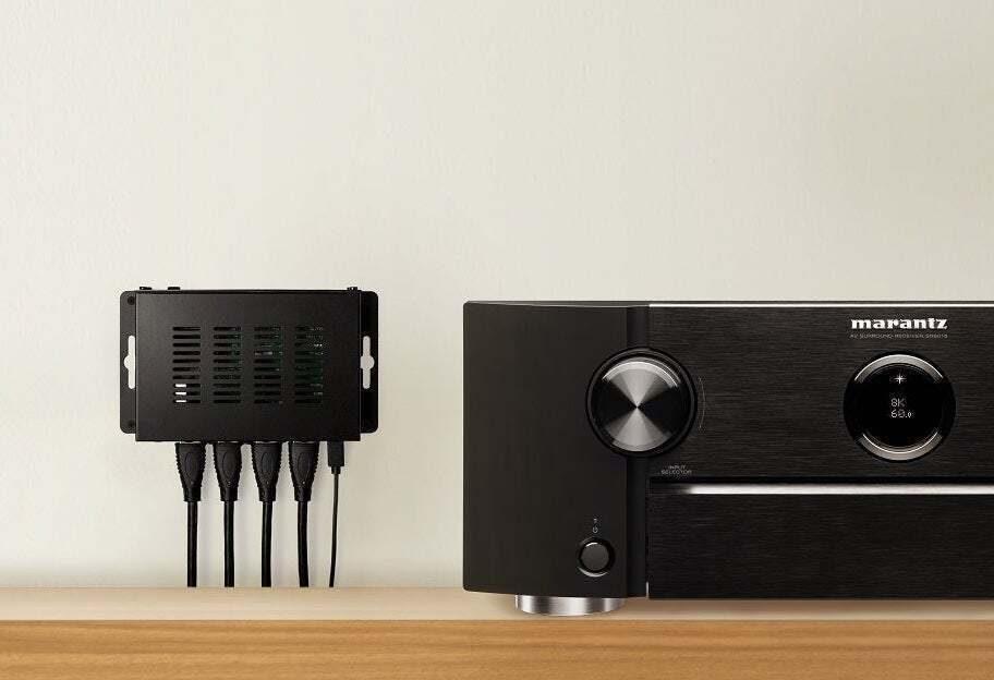 Sound United выпустила трехпортовые коммутаторы с портами 8K HDMI 2.1 для ресиверов Denon и Marantz