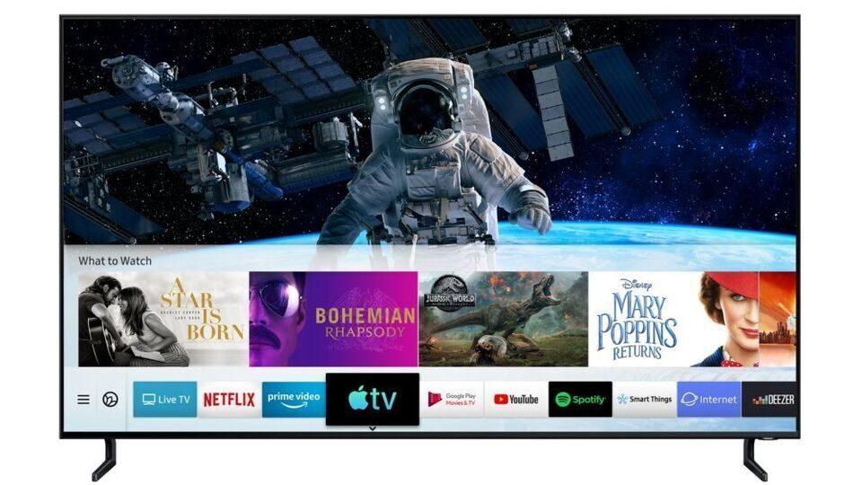 На телевизорах Samsung предыдущих поколений появился доступ к Apple TV+