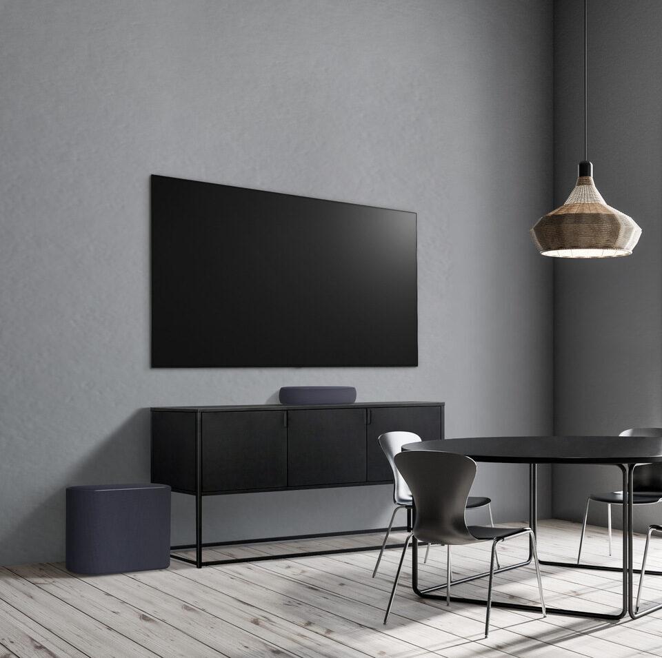 LG Eclair: компактный саундбар с поддержкой Dolby Atmos и DTS:X