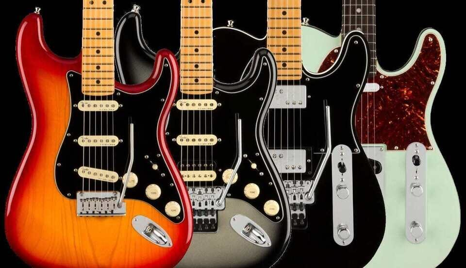 Fender представила премиальную серию электрогитар American Ultra Luxe