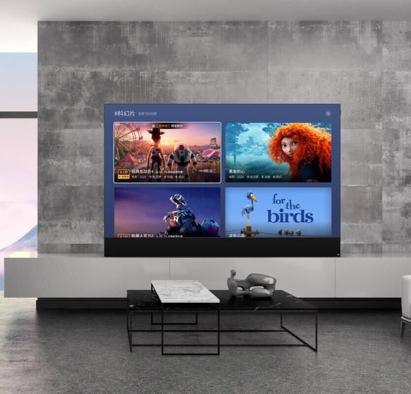 OLED-телевизор Skyworth W92: изображение 8K 120 Гц и звук Skyworth Audio Glass Sound