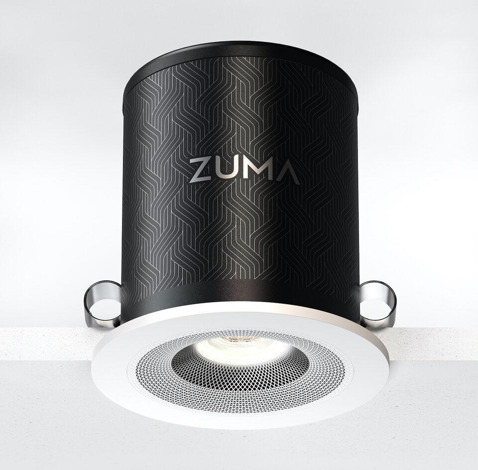 Zuma Lumisonic: умный светильник и активная потолочная акустика с поддержкой Hi-Res