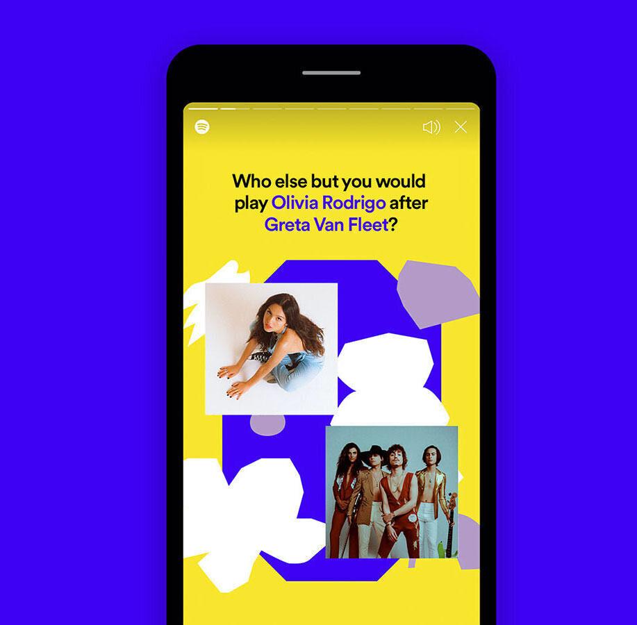 В приложении Spotify появился интерфейс визуализированных плейлистов Only You