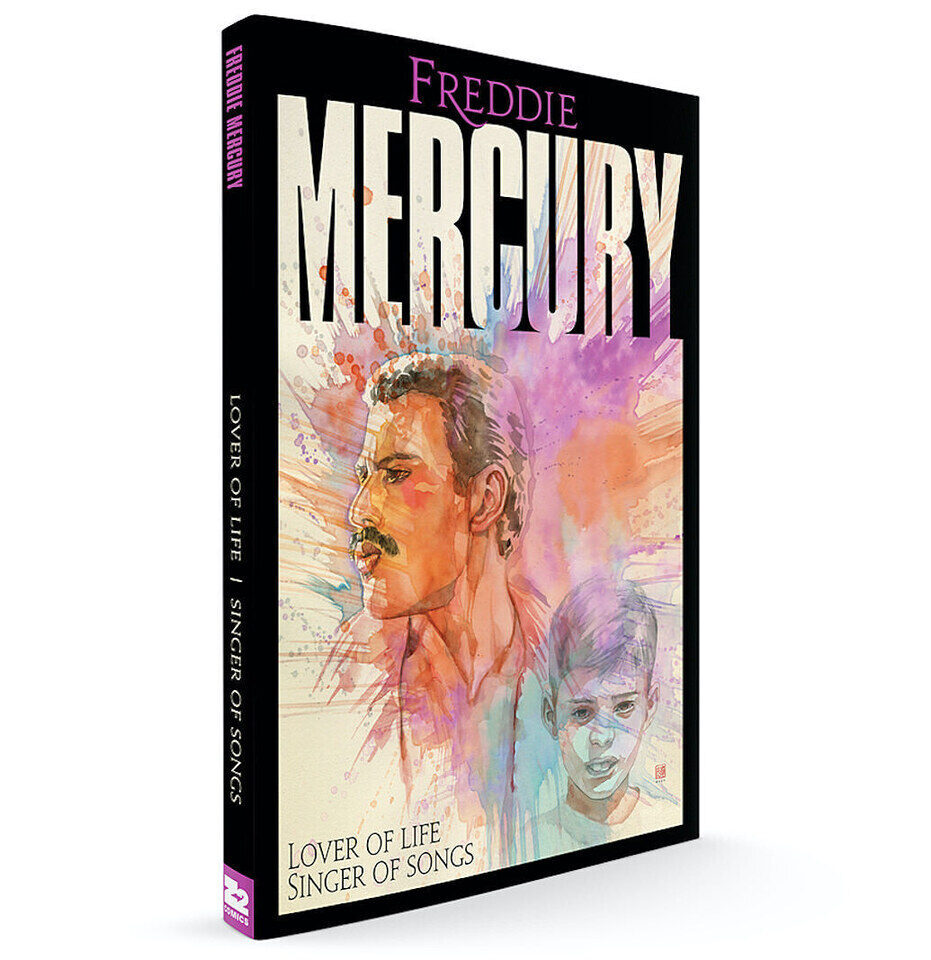 Жизнеописание Фредди Меркьюри выйдет в формате комиксов