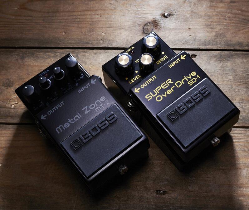 Boss показала юбилейные версии гитарных примочек Metal Zone и Super Overdrive