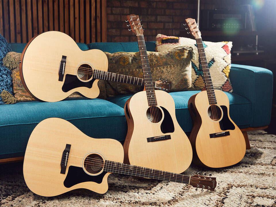 Линейка гитар Gibson Generation Collection: четыре модели с дополнительными портами-мониторами