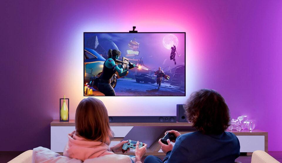 Govee Immersion TV — контурная подсветка RGBIC для любого телевизора