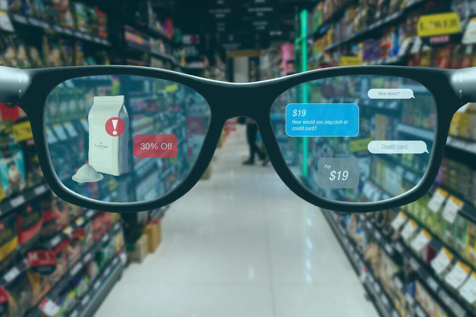 Умные очки Xiaomi Smart Glasses с microLED-дисплеем смогут работать автономно