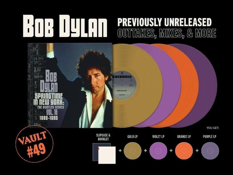 Четырехдисковый виниловый альбом Боба Дилана «Springtime In New York» выйдет в серии Third Man Records Vault