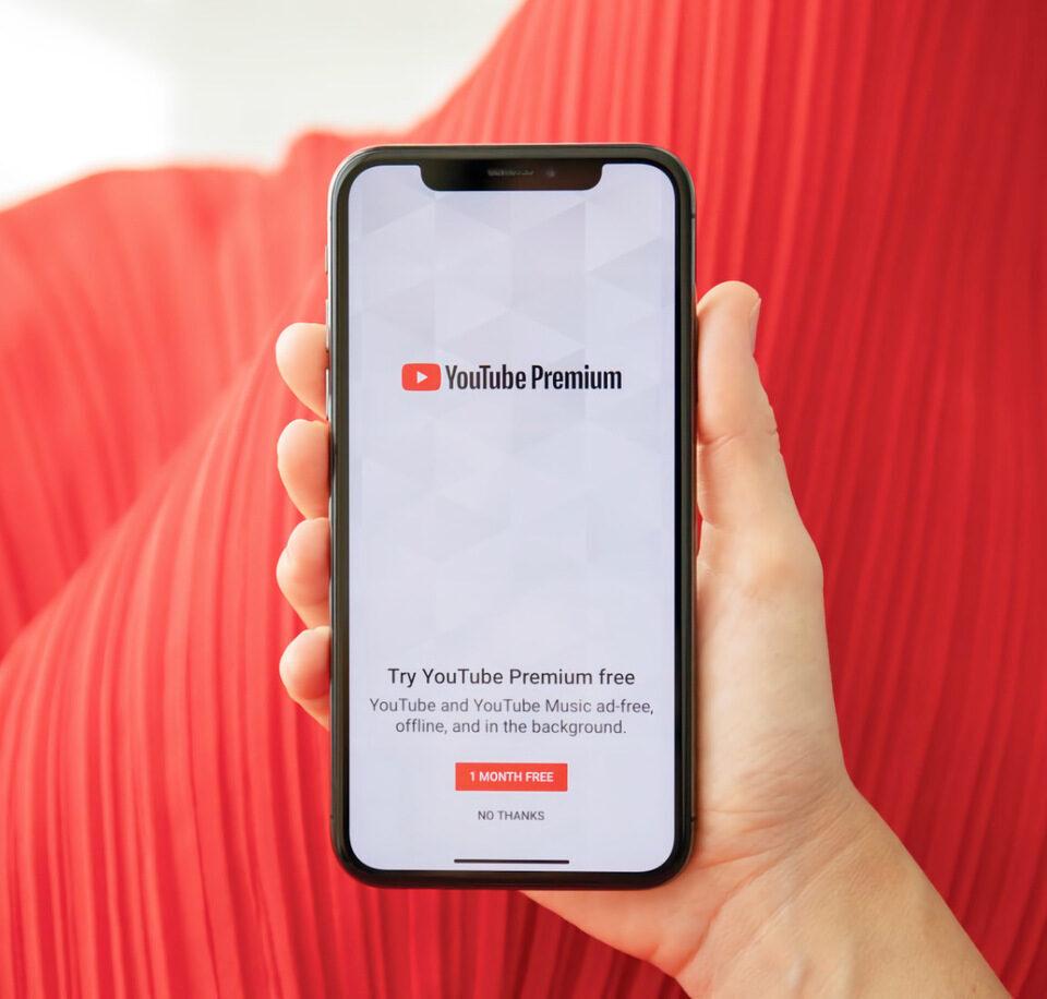 Пакет «просто без рекламы» YouTube Premium Lite появился в Европе