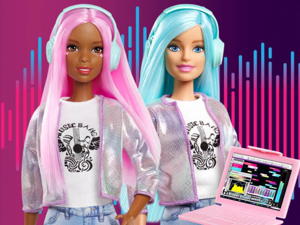Набор Barbie Music Producer поможет с творческим развитием начинающим девочкам-музыкантам