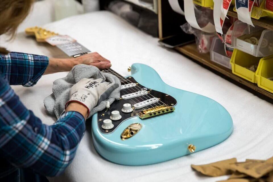 В гитарном онлайн-конфигураторе Fender Mod Shop появились 3D-модели