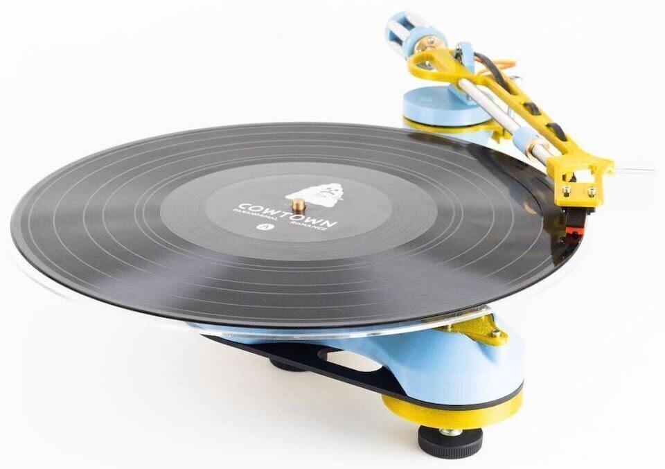 Компания Frame Theory 3D предложила напечатать 3D-проигрыватель винила Songbird