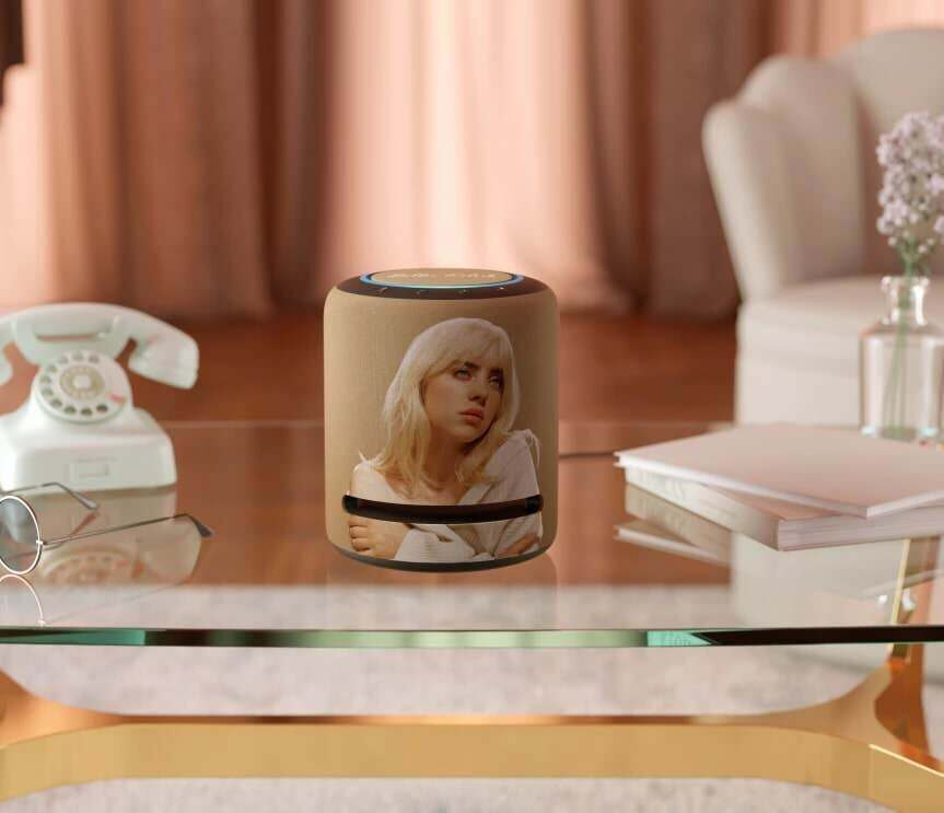 Amazon представила умную колонку Echo Studio в эксклюзивном дизайне Billie Eilish