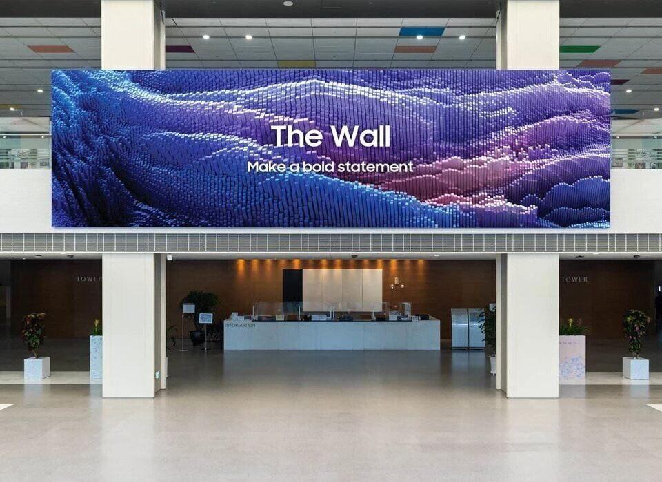Samsung представила обновленный дисплей The Wall с прежними основными характеристиками