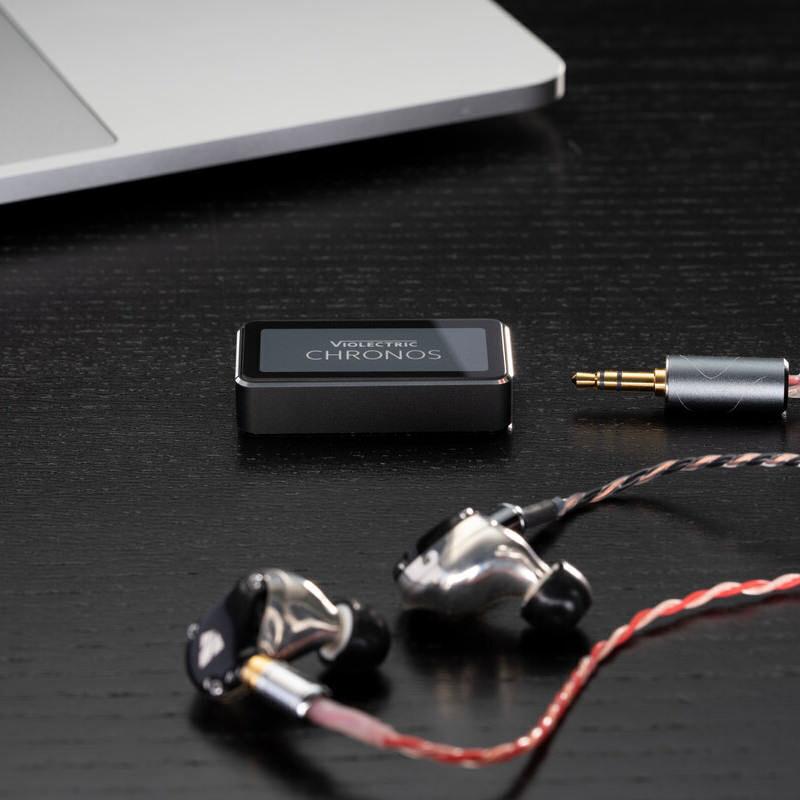 Мобильный ЦАП/усилитель наушников Violectric Chronos: 200 мА, 32 бит и 384 кГц
