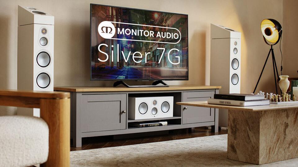 Акустика серии Monitor Audio Silver 7G: обновленный твитер C-CAM и динамики RST II