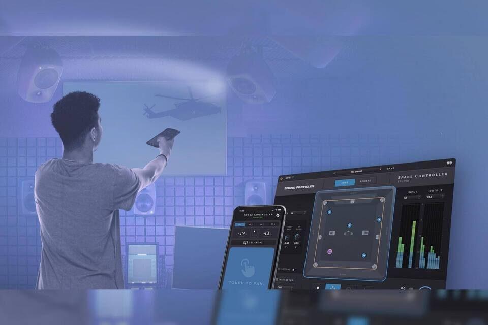 Система 3D-панорамирования Sound Particles Space Controller расположит объекты в пространстве с помощью гироскопа смартфона