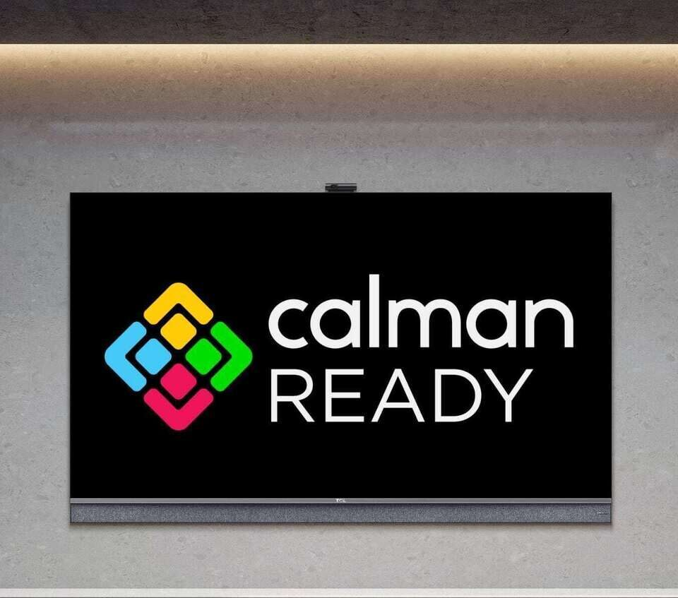 Телевизоры TCL получат автоматическую калибровку Calman