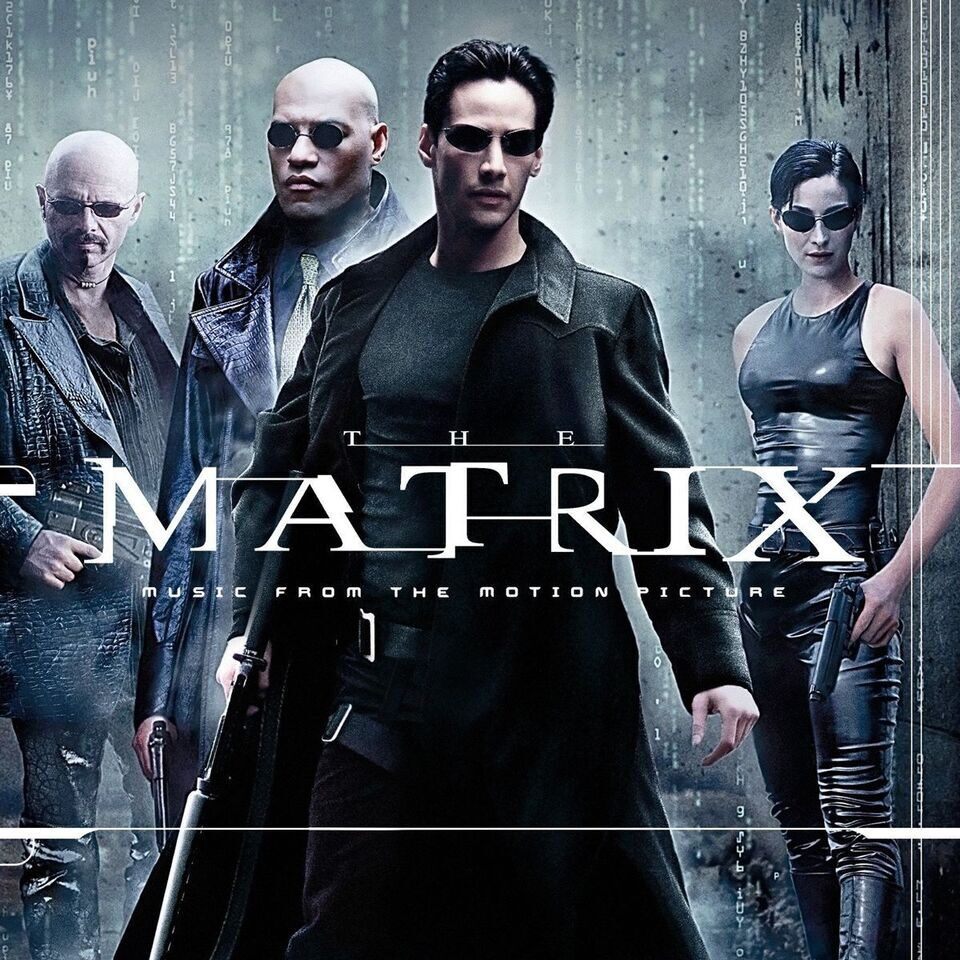 Саундтрек к «Матрице» выйдет на синем и красном виниле