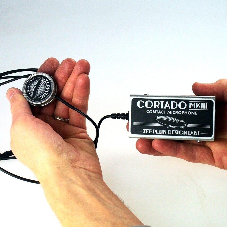 Zeppelin Design Labs представила MKIII-версию контактного микрофона Cortado