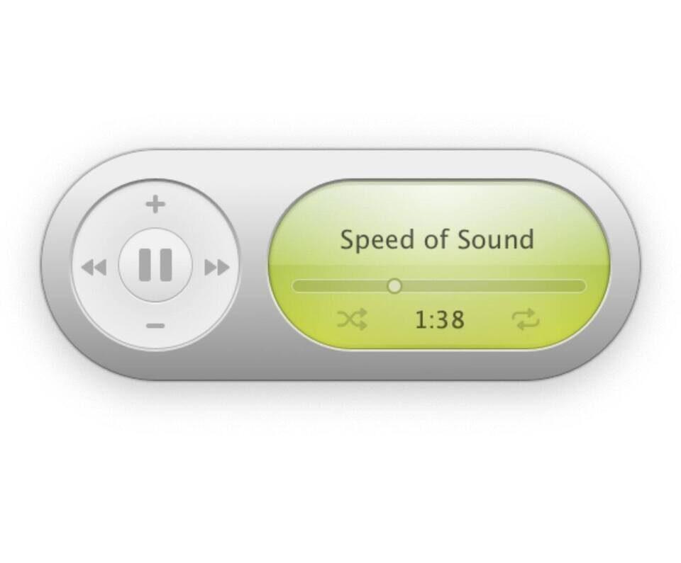Плеер Apple Music для MacOS от Марио Гузмана повторил стиль виджета iTunes 2005 года